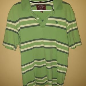 Abercrombie and Fitch Vintage Polo Shirt